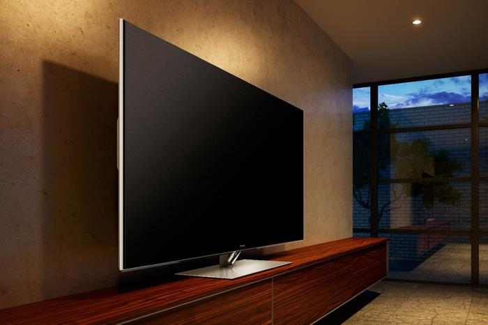 The Panasonic VT60A plasma TV.