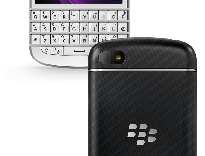 The Q10 combines a physical, QWERTY keyboard with a 3.1in touchscreen.
