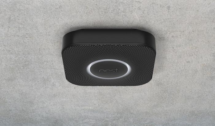 Nest says it chose a square design purely because most current smoke detectors are round.