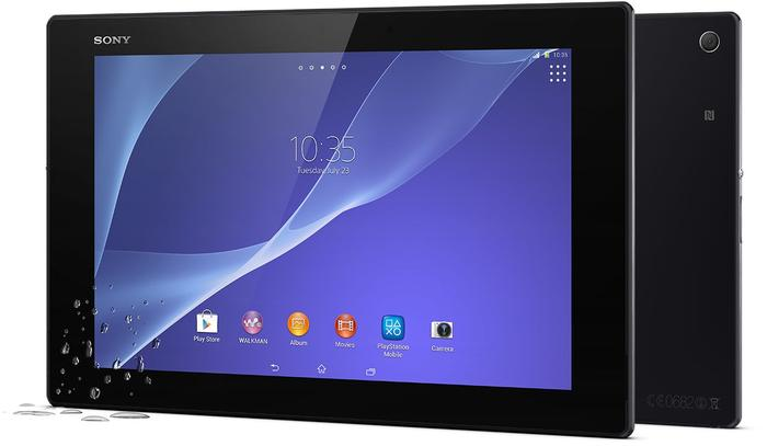 Sony's Wi-Fi tablets will only be available in Black, while the 4G model will be offered in Black and White