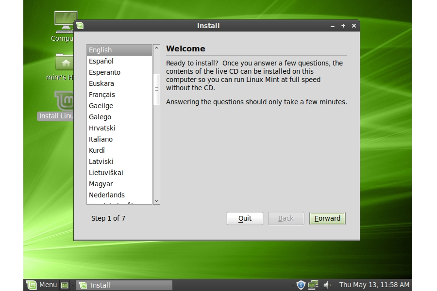Linux Mint 9 Specifications - Software and Services
