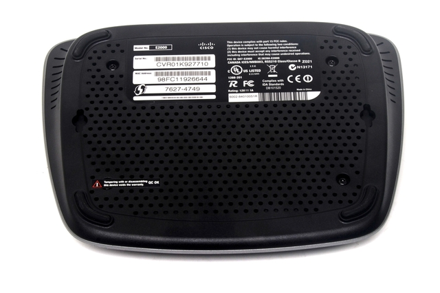 Linksys E2000 Advanced Wireless N Router