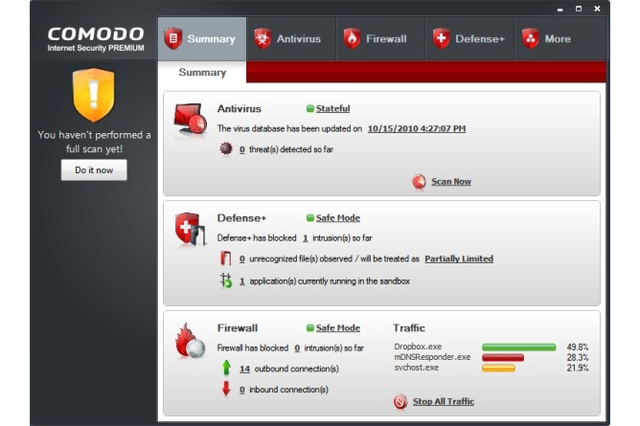 Comodo Internet Security Premium 5.0