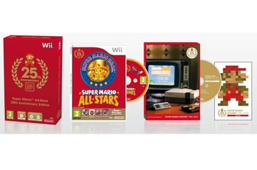 Nintendo Australia Super Mario All-Stars 25th Anniversary Edition