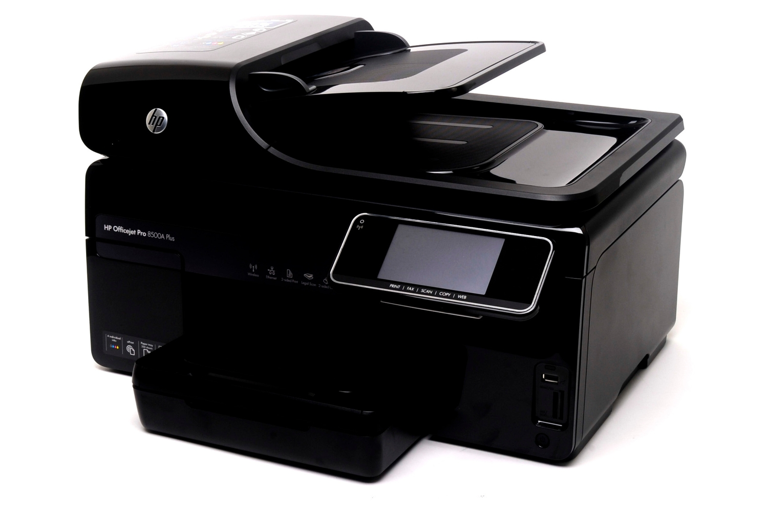 HP Officejet Pro 8500A Plus Review: HP Officejet Pro 8500A Plus review:  This inkjet printer from HP produces A4 documents and photos quickly -  Brand Centre ...