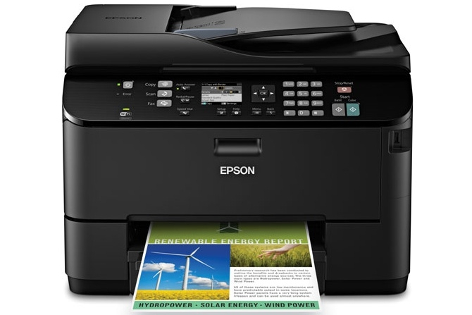 Epson WorkForce Pro 4530 Review: The Epson WorkForce Pro WP-4530 is