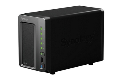 Synology DiskStation DS710+ NAS device