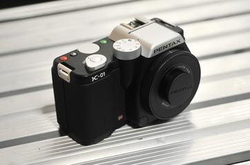 Pentax K-01 interchangeable lens camera