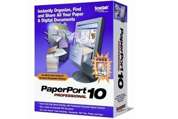 ScanSoft ScanSoft PaperPort Professional 10
