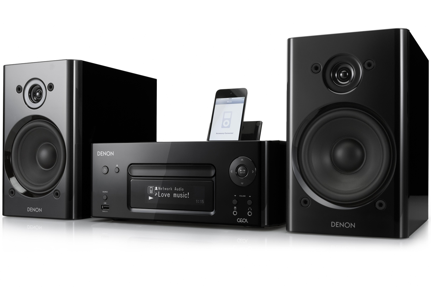 denon ceol review this mini hi fi suits the wi fi ipod toting generation front page pc. Black Bedroom Furniture Sets. Home Design Ideas