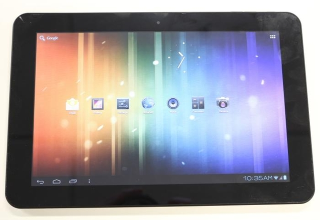 Metalbox MP10 Android tablet