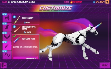 Adult Swim Games Robot Unicorn Attack 2