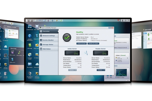 Synology DSM 4.3 software (preview)