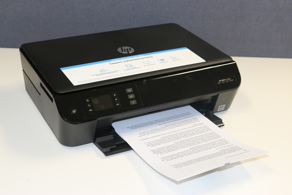 HP Envy 4500 e-All-in-One Printer Review: It allows you to