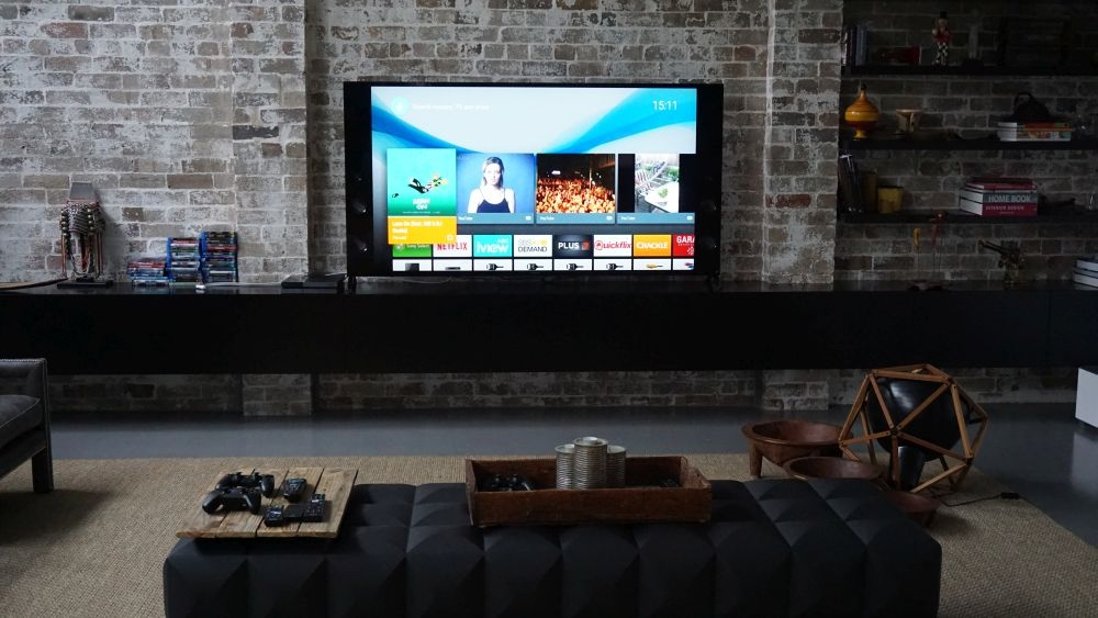 sony 75 inch tv. sony x9400c review: bringing spectacle back to the television - tvs led pc world australia 75 inch tv 0