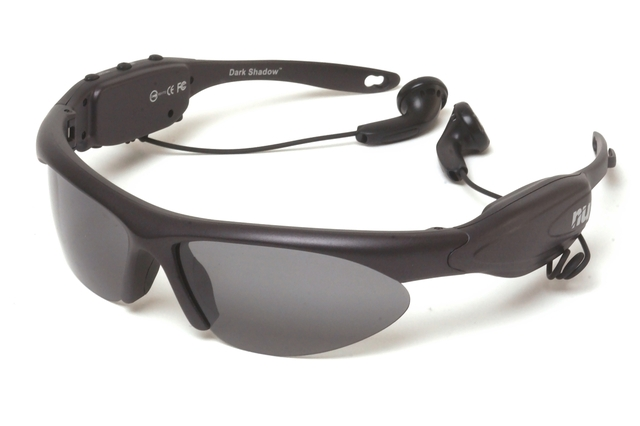NU Dark Shadow Mp3 Sunglasses