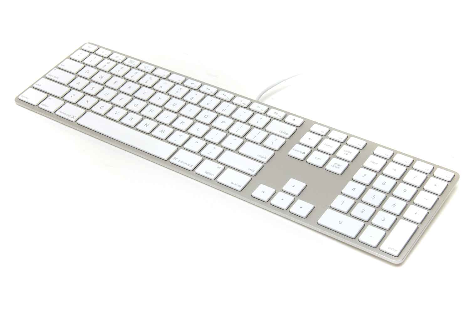 apple wired keyboard review pc components keyboards mice input devices pc world australia. Black Bedroom Furniture Sets. Home Design Ideas