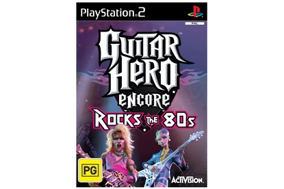Activision Guitar Hero Encore: Rocks the 80s