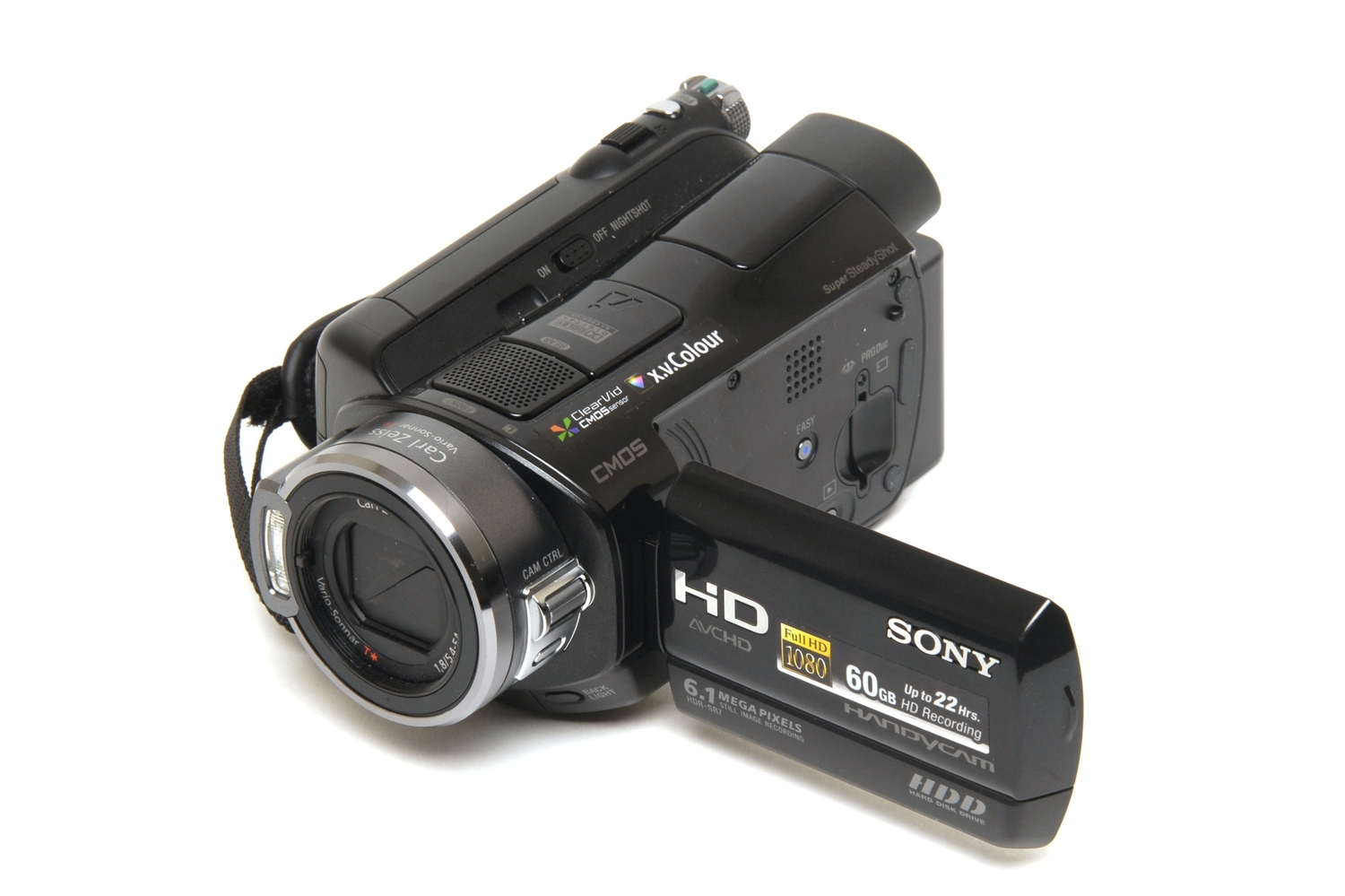 Hitachi DZHS500A DVD/HDD Camcorder Review - YouTube