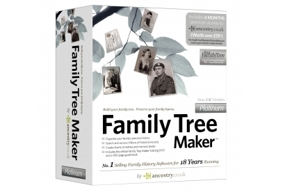 GSP Software Family Tree Maker 2008 Platinum Edition