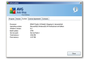 AVG Technologies AU Anti-Virus 8.0 Free