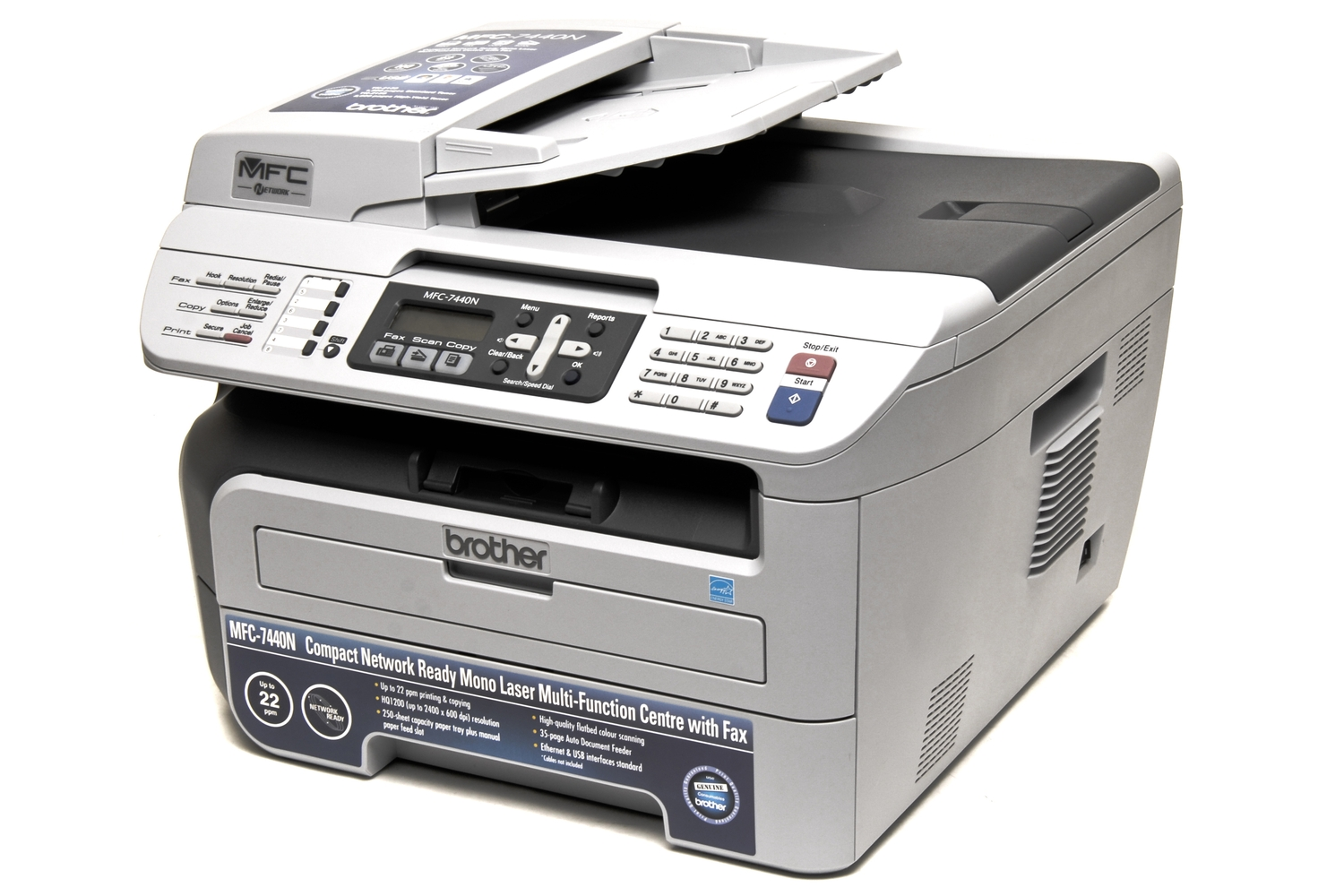 Brother International (Aust) MFC-7440N Review: A step in the right  direction - Printers & Scanners - Multifunction Devices - PC World Australia