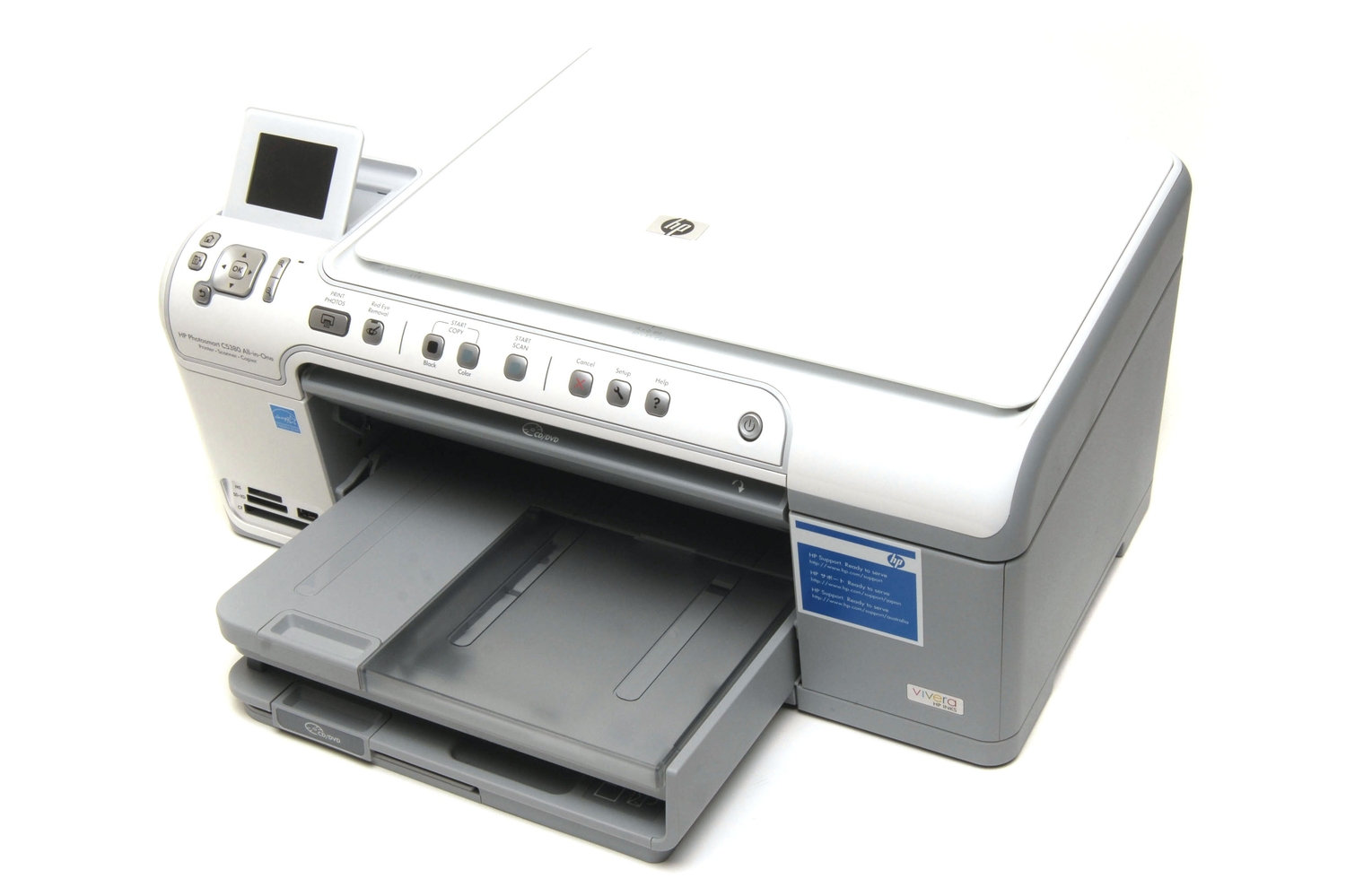 HP Photosmart C5380 Review: The new king of the inkjets? - Printers &  Scanners - Multifunction Devices - PC World Australia