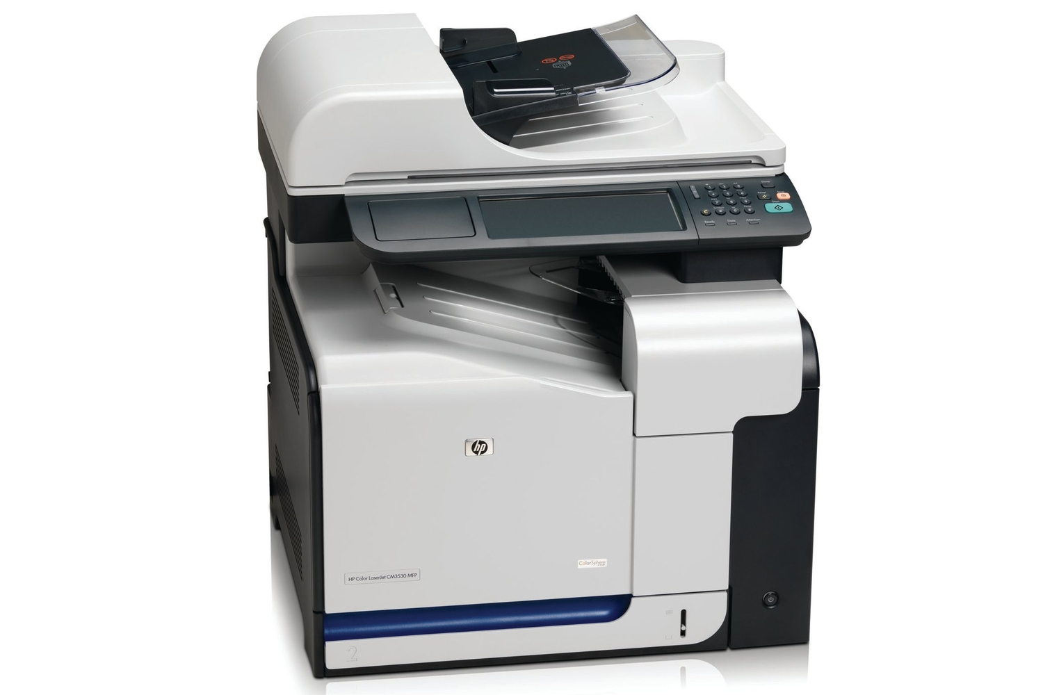 HP Colour LaserJet CM3530fs Review: Decent print quality, some design  flaws. - Printers & Scanners - Multifunction Devices - PC World Australia