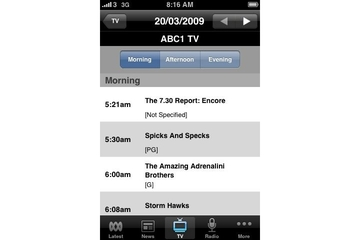 ABC Networks iPhone app