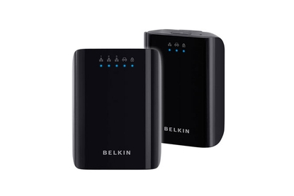 Belkin Australia Powerline AV+ Starter Kit F5D4075