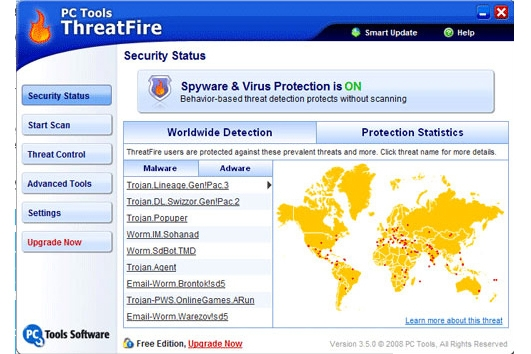 PC Tools Threatfire 4.5