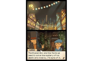 Nintendo Australia Professor Layton and Pandora's Box