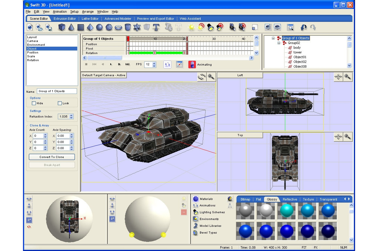 Swift 3d V6 Software And Services Graphics