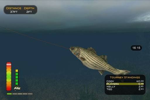 Xs games bass pro shops the strike review fishing like for Bass pro shop fishing games