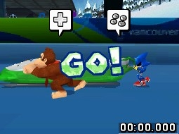 Sega Mario & Sonic at the Olympic Winter Games