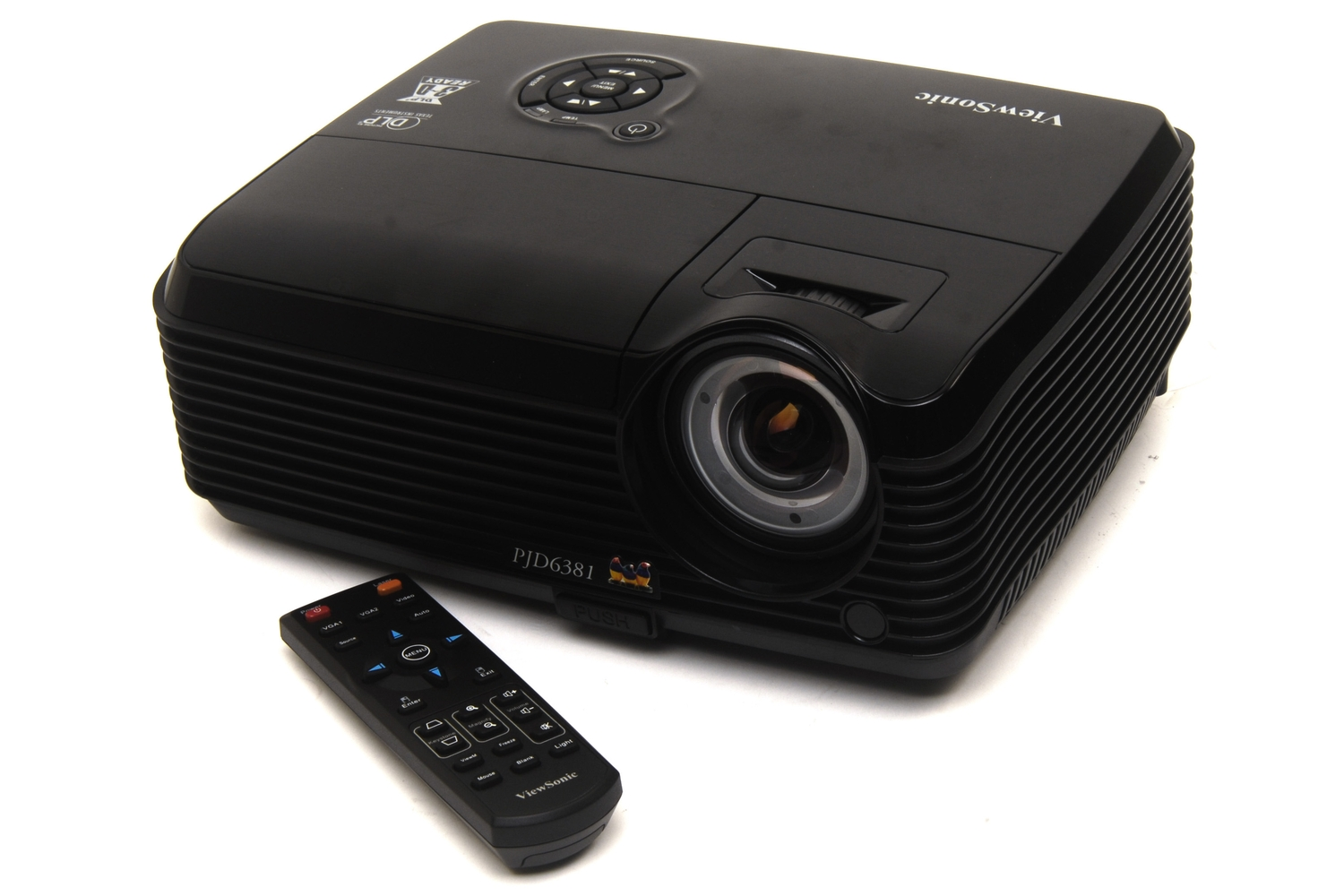 Viewsonic pjd6381 review viewsonic 39 s latest portable for Latest pocket projector
