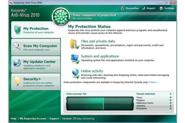 Kaspersky Anti-Virus 2010