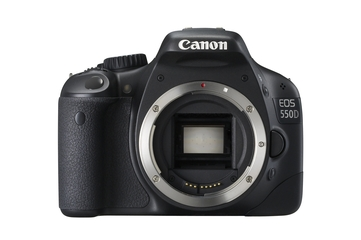 Canon EOS 550D digital SLR camera