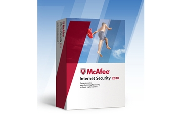 McAfee Australia Internet Security 2010