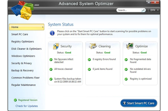 Systweak Advanced System Optimizer 3