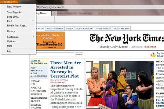 Mozilla Firefox 4 Review: The first beta of Mozilla's new Firefox 4