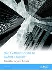 15-Minute Guide to Smarter Backup Transform your future
