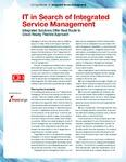IT in Search of Integrated Service Management