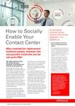 How to Socially Enable Your Contact Centre